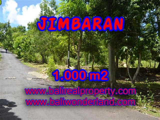 Land in Jimbaran Bali for sale, Exotic view in Jimbaran Ungasan – TJJI070