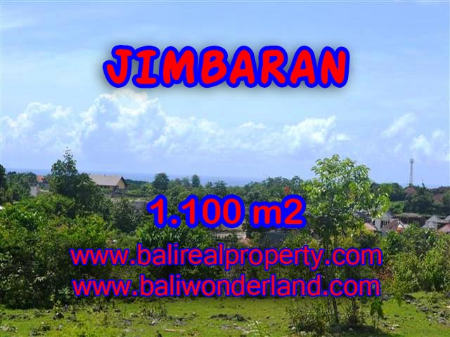Extraordinary Land for sale in Jimbaran Bali, villa environtment in Jimbaran Ungasan– TJJI067