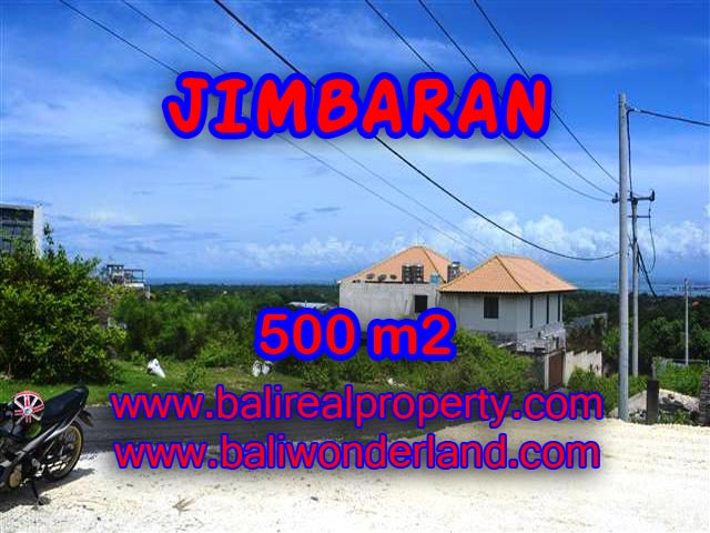 Land in Jimbaran for sale, Outstanding view in Jimbaran Ungasan Bali – TJJI066