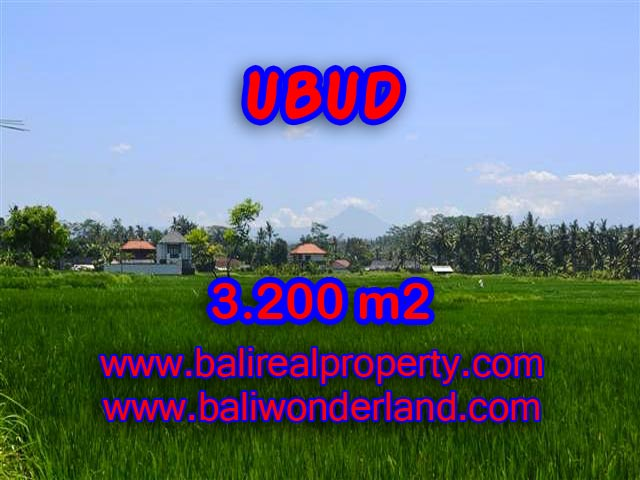Land in Ubud Bali for sale, nice view in Ubud Center Bali – TJUB385