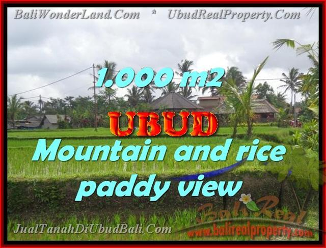 Stunning Property for sale in Bali land sale in Ubud Bali – TJUB424