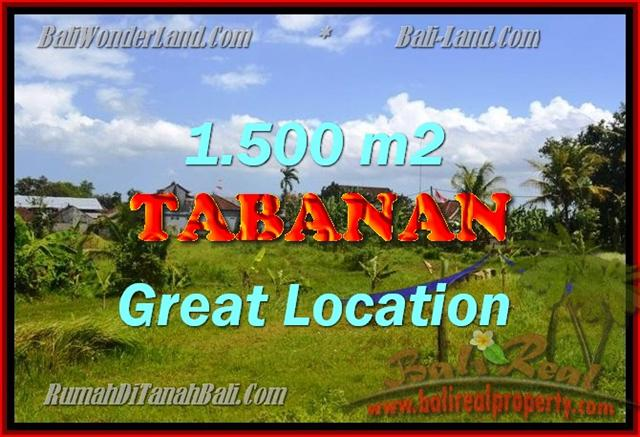 Land in Bali for sale, extraordinary view in Tabanan Kota ( City ) – TJTB144