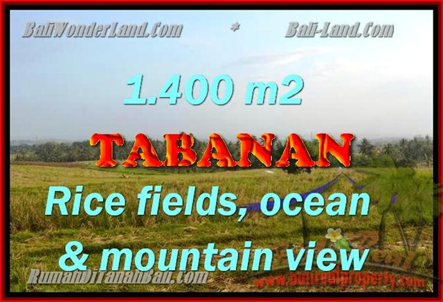 Land for sale in Bali, exotic view in Tabanan selemadeg Bali – TJTB143