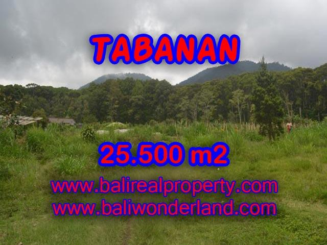 Land in Bali for sale, fantastic view in Tabanan Bali – TJTB085