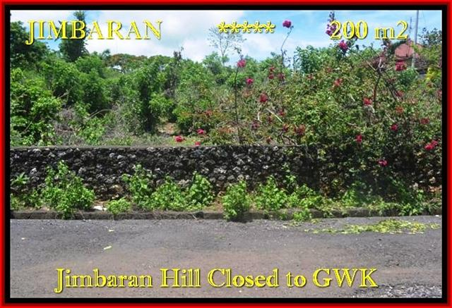 Beautiful PROPERTY LAND IN Jimbaran Ungasan FOR SALE TJJI086