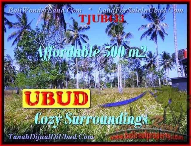 Magnificent PROPERTY 500 m2 LAND IN UBUD BALI FOR SALE TJUB433