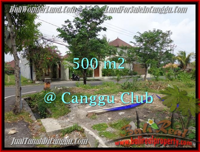 Magnificent CANGGU 500 m2 LAND FOR SALE TJCG176