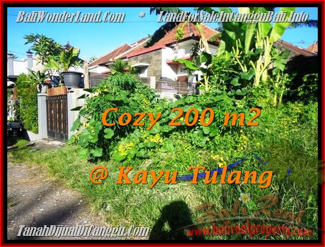 Affordable PROPERTY 200 m2 LAND SALE IN CANGGU TJCG173