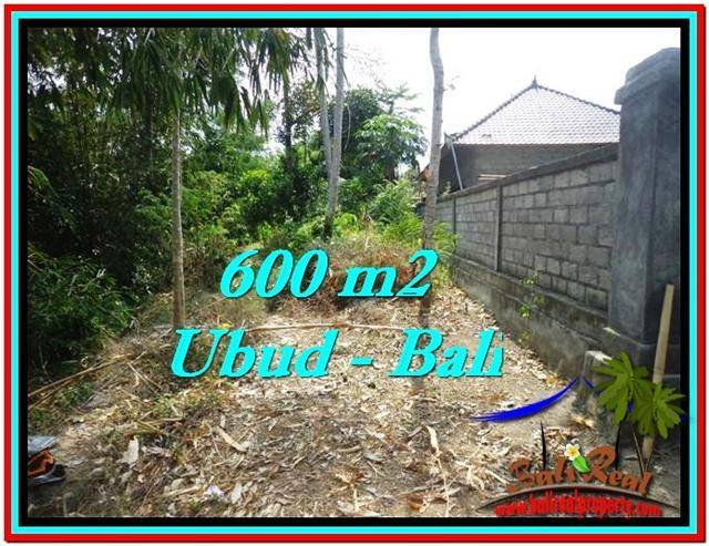 Magnificent 600 m2 LAND IN UBUD BALI FOR SALE TJUB523