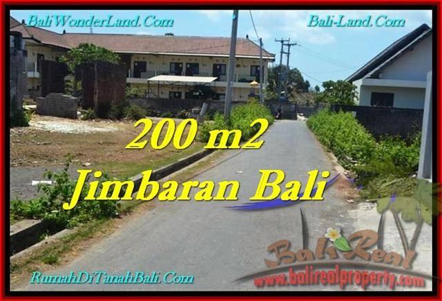Jimbaran Ungasan BALI 200 m2 LAND FOR SALE TJJI101