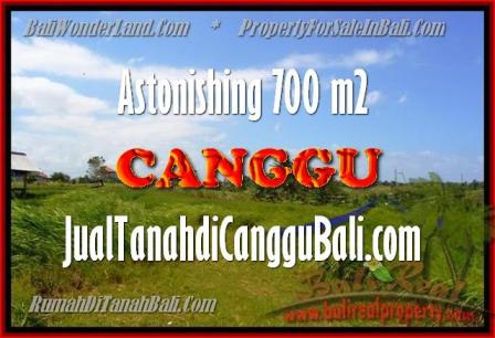 Exotic CANGGU 700 m2 LAND FOR SALE TJCG155