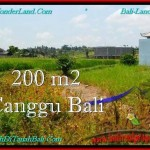 Exotic 200 m2 LAND IN CANGGU FOR SALE TJCG191