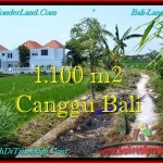Magnificent PROPERTY 1,100 m2 LAND IN CANGGU BALI FOR SALE TJCG193