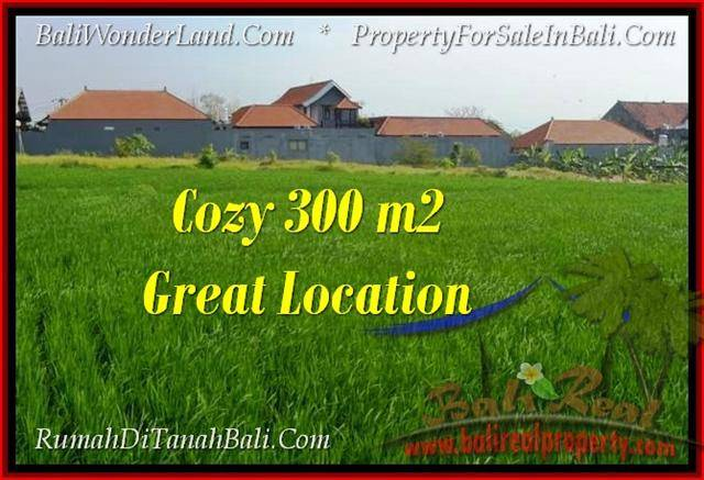 Magnificent PROPERTY 300 m2 LAND SALE IN CANGGU BALI TJCG186