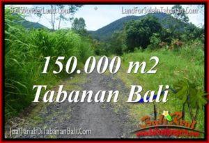 Exotic PROPERTY 150,000 m2 LAND SALE IN Tabanan Penebel TJTB318