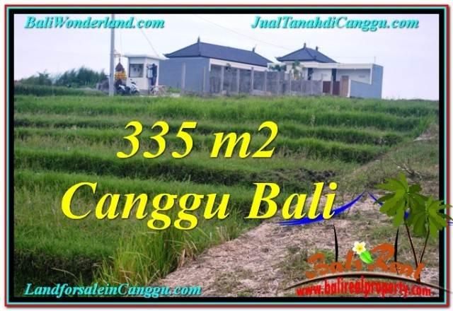 Affordable PROPERTY CANGGU BALI 335 m2 LAND FOR SALE TJCG204