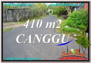 Exotic PROPERTY 410 m2 LAND SALE IN CANGGU TJCG216