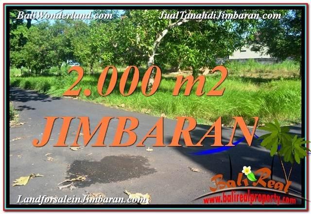 FOR SALE Beautiful PROPERTY LAND IN JIMBARAN BALI TJJI114