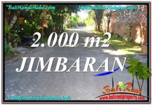 Jimbaran Uluwatu BALI 2,000 m2 LAND FOR SALE TJJI115