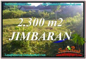 FOR SALE Exotic PROPERTY 2,300 m2 LAND IN JIMBARAN TJJI117