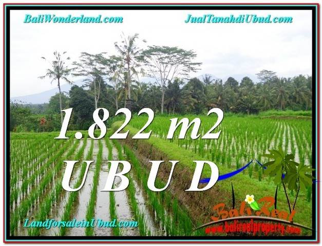 Magnificent PROPERTY LAND FOR SALE IN UBUD TJUB574