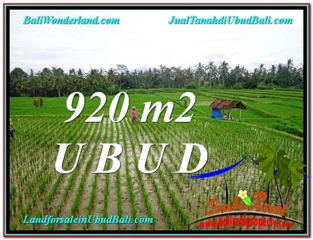 FOR SALE Beautiful PROPERTY LAND IN UBUD TJUB575
