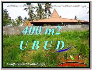 Affordable PROPERTY 400 m2 LAND FOR SALE IN Sentral Ubud TJUB585