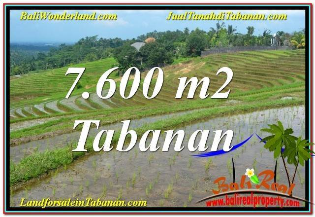 FOR SALE Exotic LAND IN TABANAN BALI TJTB347