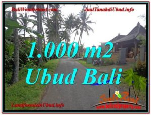 Magnificent LAND IN Ubud Pejeng BALI FOR SALE TJUB604
