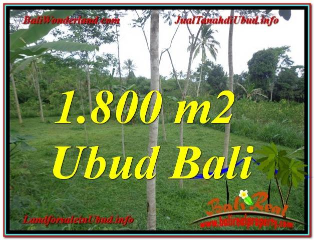 Beautiful PROPERTY LAND FOR SALE IN UBUD TJUB610