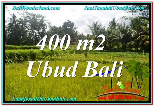 400 m2 LAND FOR SALE IN UBUD BALI TJUB627