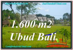 Magnificent 1,600 m2 LAND SALE IN UBUD BALI TJUB633