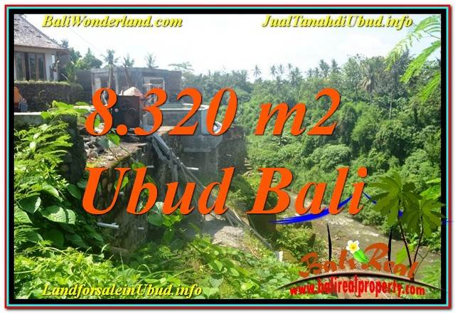 FOR SALE Beautiful 8,320 m2 LAND IN UBUD BALI TJUB635