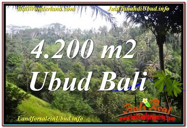 Exotic PROPERTY 4,200 m2 LAND IN Sentral / Ubud Center FOR SALE TJUB639
