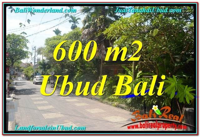 Beautiful PROPERTY 600 m2 LAND FOR SALE IN Sentral / Ubud Center TJUB644