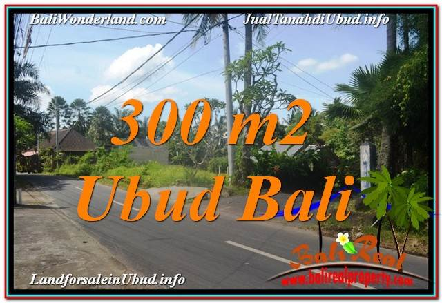 Magnificent PROPERTY 300 m2 LAND FOR SALE IN UBUD TJUB646