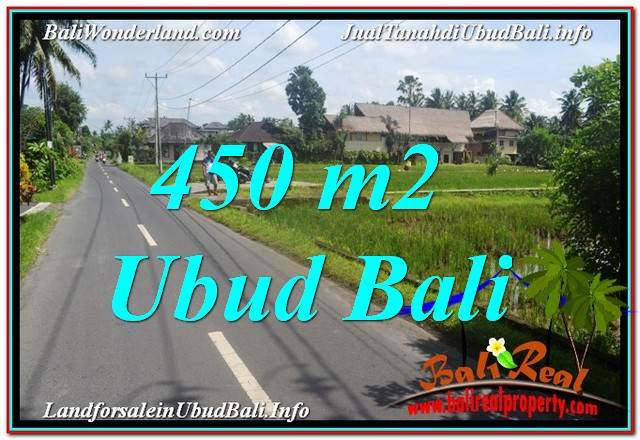 FOR SALE Affordable LAND IN Sentral / Ubud Center BALI TJUB647