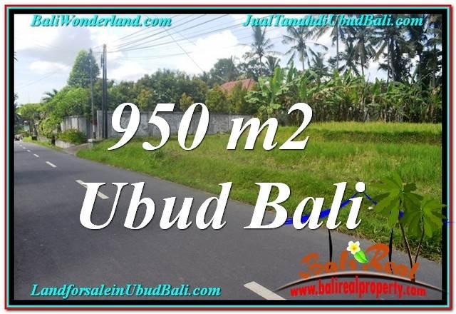 Affordable LAND IN Sentral / Ubud Center BALI FOR SALE TJUB648