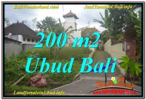 Exotic PROPERTY LAND FOR SALE IN UBUD TJUB632