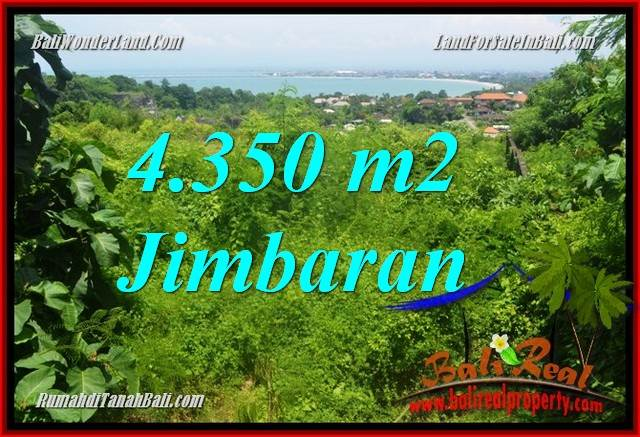 Jimbaran Ungasan BALI 4,350 m2 LAND FOR SALE TJJI120