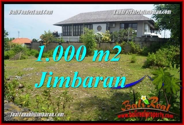 Beautiful 1,000 m2 LAND IN JIMBARAN BALI FOR SALE TJJI123