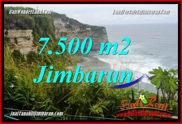 Beautiful PROPERTY 7,500 m2 LAND SALE IN Jimbaran Uluwatu  BALI TJJI126