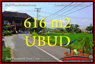 Beautiful PROPERTY UBUD SENTRAL BALI 616 m2 LAND FOR SALE TJUB650