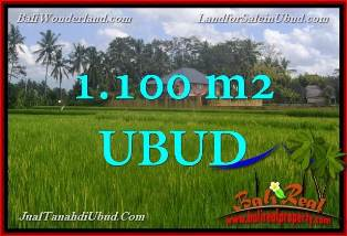 Beautiful PROPERTY 1,100 m2 LAND SALE IN UBUD BALI INDONESIA TJUB651