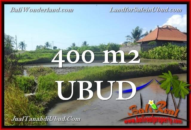 Beautiful PROPERTY Ubud Gianyar 400 m2 LAND FOR SALE TJUB659