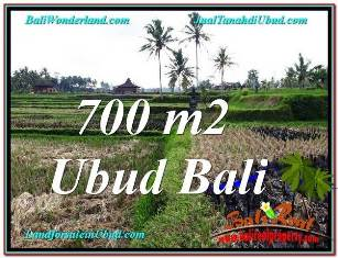 Exotic PROPERTY UBUD LAND FOR SALE TJUB666