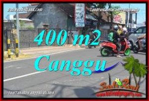 Exotic PROPERTY 400 m2 LAND SALE IN CANGGU TJCG224