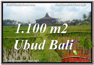 Affordable 1,100 m2 LAND SALE IN UBUD BALI TJUB670