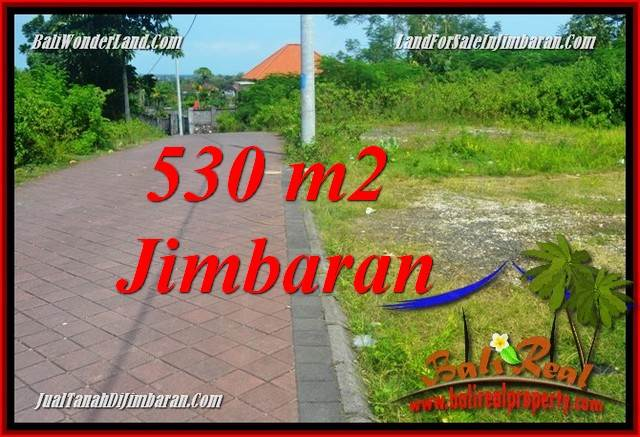 Exotic PROPERTY JIMBARAN ULUWATU BALI 530 m2 LAND FOR SALE TJJI127