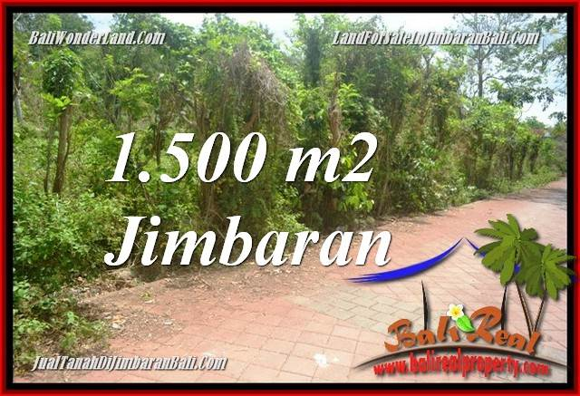 Beautiful 1,500 m2 LAND FOR SALE IN JIMBARAN BALI TJJI128